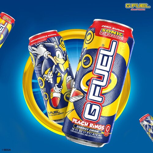 G FUEL and SONIC THE HEDGEHOG