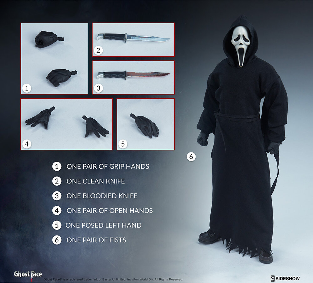 SCREAM Ghostface Action Figure